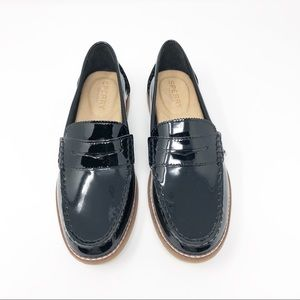New Sperry Leather Seaport Penny Loafer [NWOB]